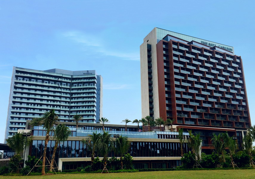 海口萬麗、麗思卡爾頓酒店